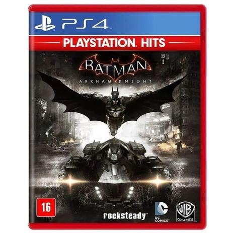 JOGO BATMAN: ARKHAM KNIGHT PS4 HITS GAME
