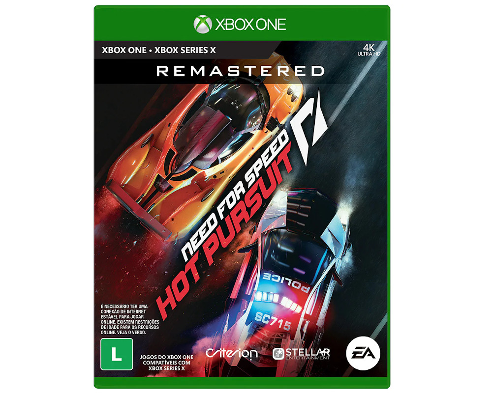 Jogo Electronic Arts Need for Speed Hot Pursuit Remastered