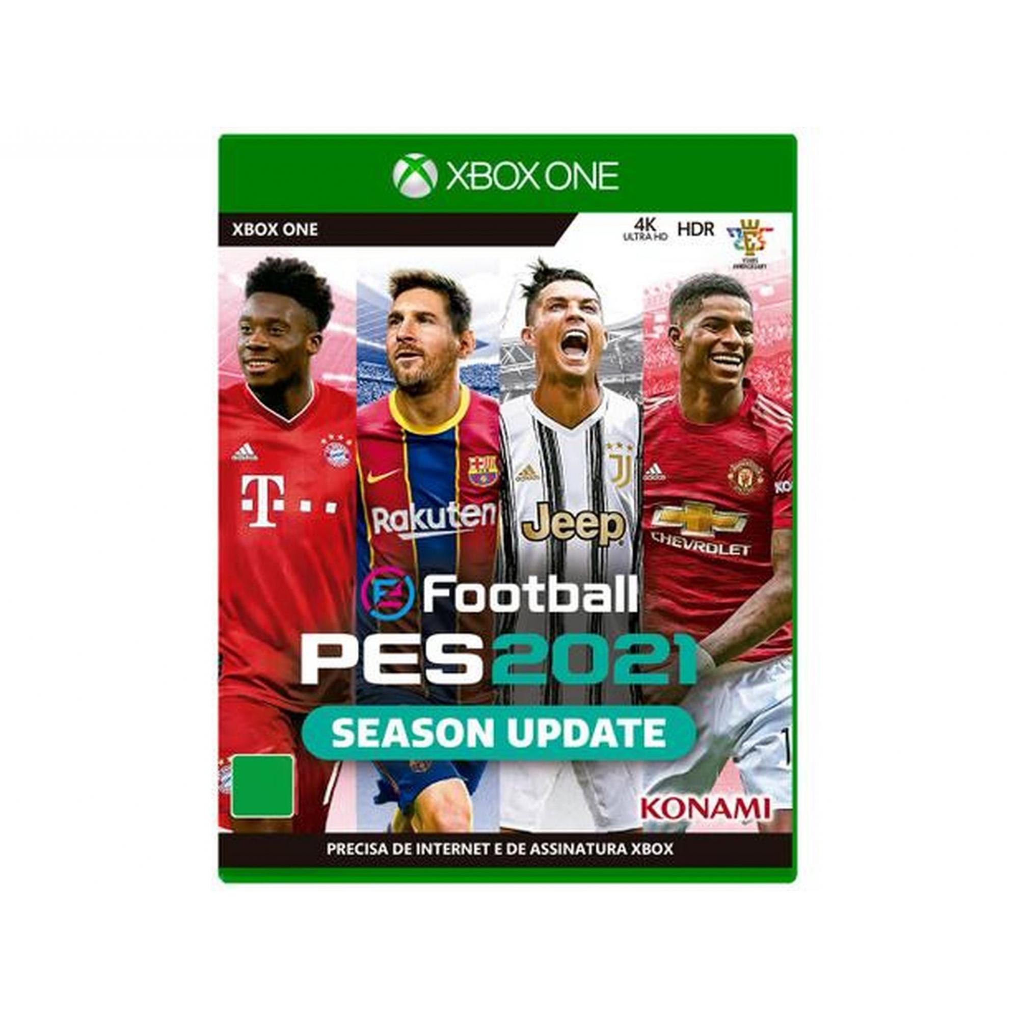 Jogo Konami PES 2021 Xbox One