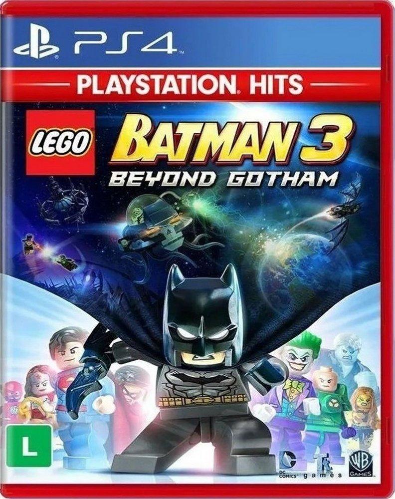 Lego Batman 3 - Beyond Gotham - PS4 (Dublado em Portugues)