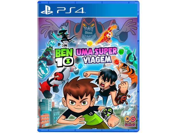 PS4 BEN 10 UMA SUPER VIAGEM
