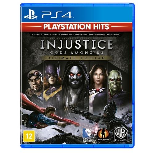 PS4 INJUSTICE GOD AMONG US