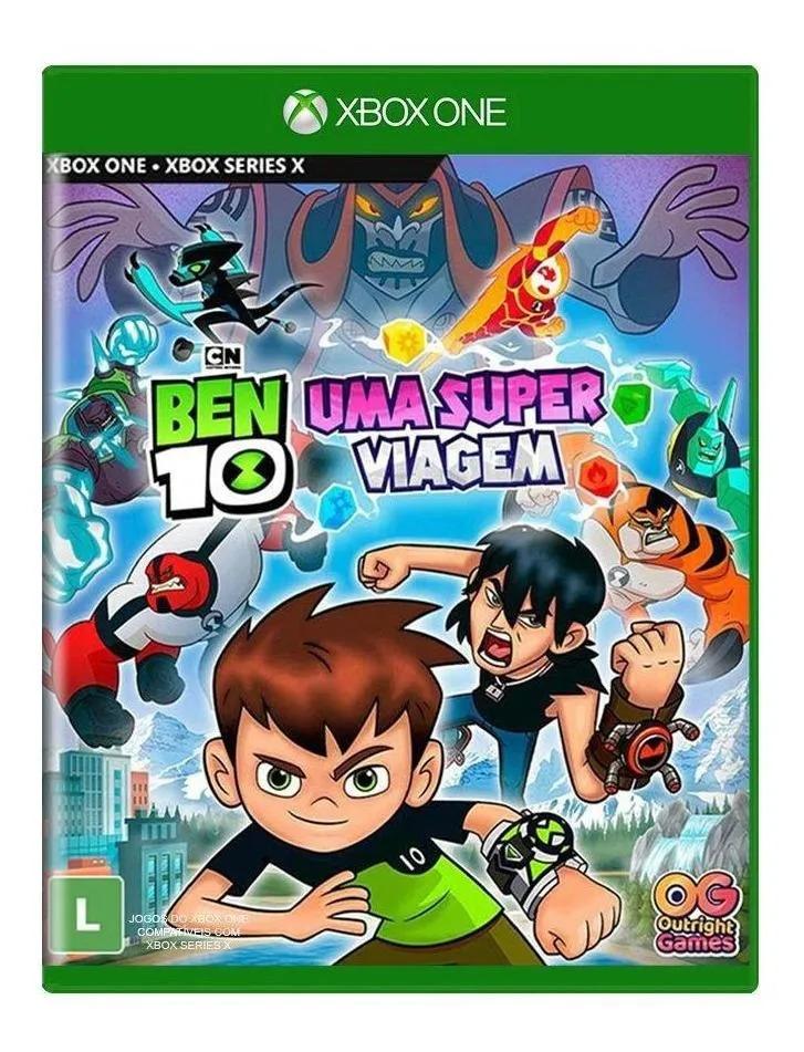 XONE BEN 10 UMA SUPER VIAGEM