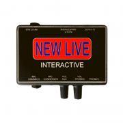 INTERFACE DE ÁUDIO NEW LIVE - INTERACTIVE - 2 CANAIS - P3
