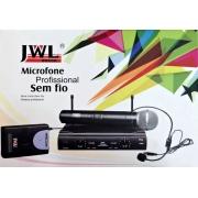 Microfone Profissional de Mão Sem Fio Jwl U-585mm Uhf (Duplo De Mão)