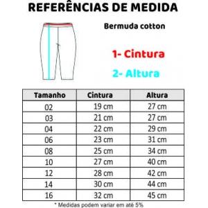 BERMUDA COTTON CICLISTA 1-3