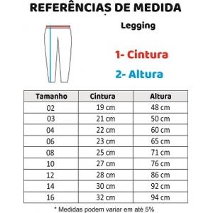 CALÇA LEGGING  4-8