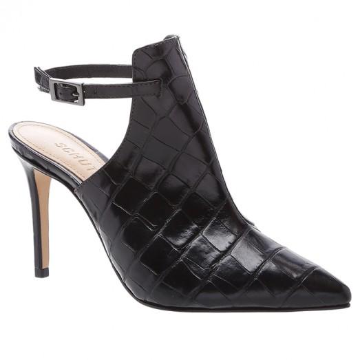 Ankle Boot Croco Schutz - Black