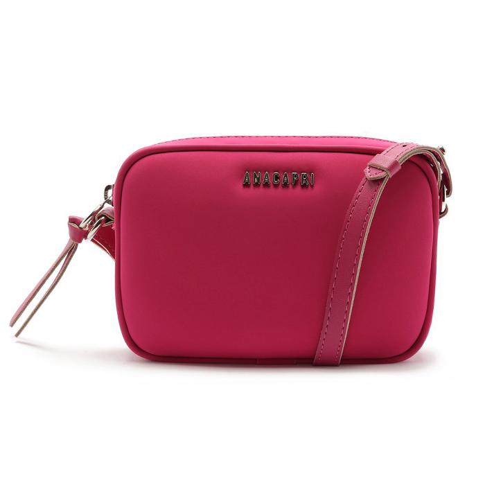 Bolsa Crossbody 2 Em 1 Nobuck Anacapri - Pink