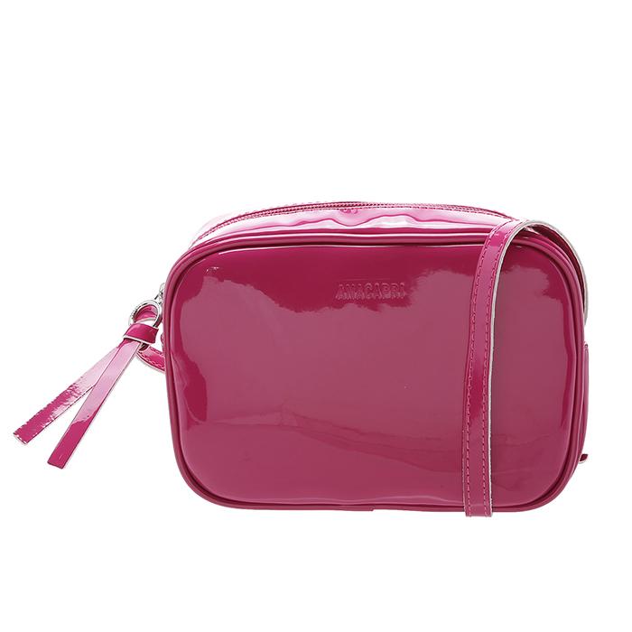 Bolsa Crossbody Firenze Verniz Anacapri - Pink