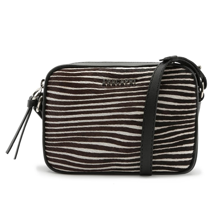 Bolsa Crossbody Paris Anacapri - Zebra