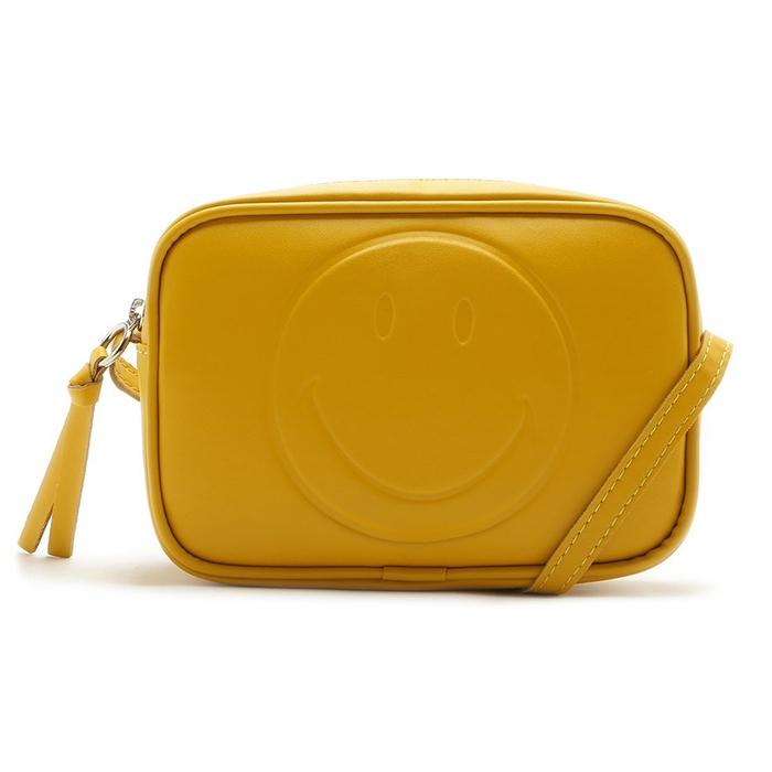 Bolsa Crossbody Smiley Anacapri - Amarela