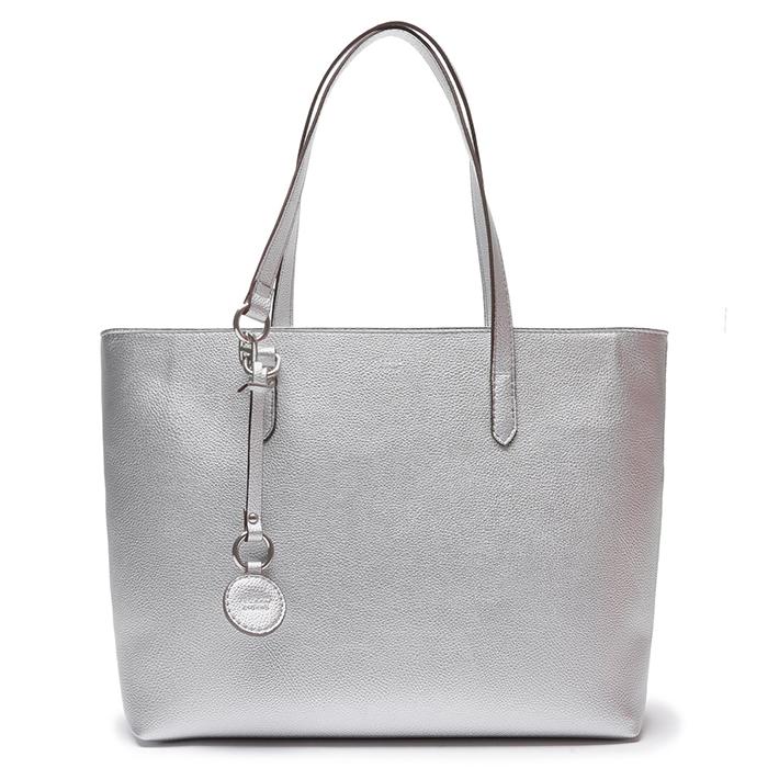 Bolsa Shopping Alicia Grande Arezzo - Silver