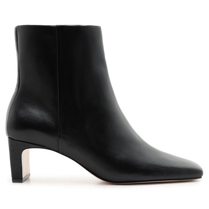 Bota New Minimal Mid Heel Schutz - Black