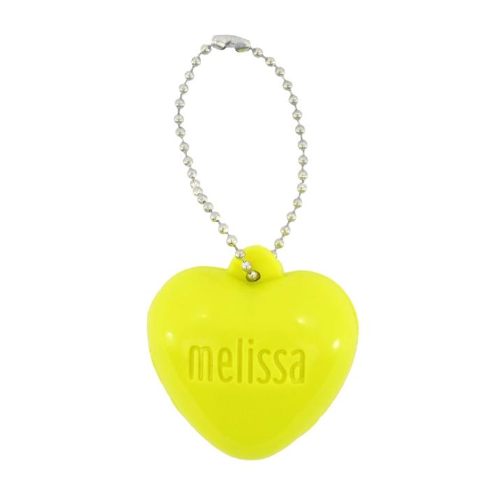 Chaveiro Melissa Coração - Verde Neon