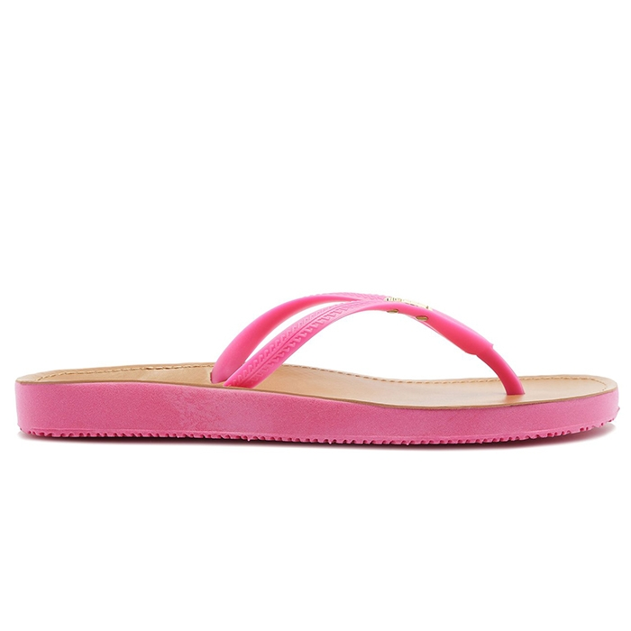 Chinelo Colore Arezzo - Pink Absolut