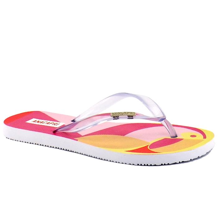 Chinelo Summer Bag Vinil Anacapri - Pink