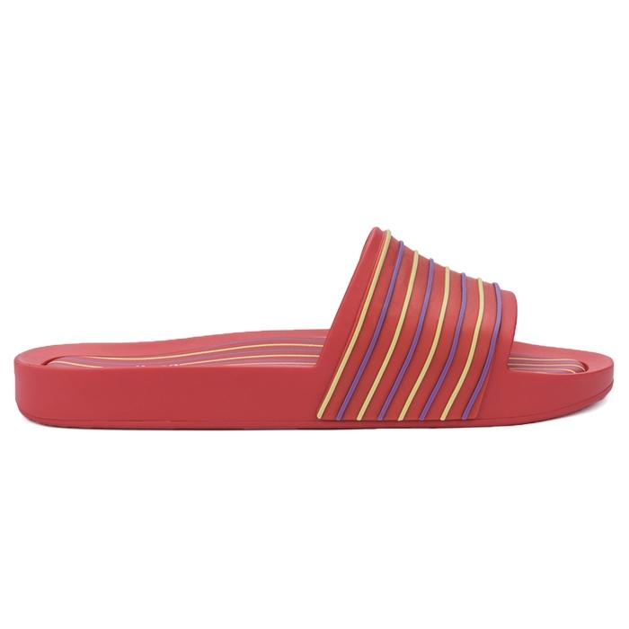 Melissa Beach Slide Street - Vermelho