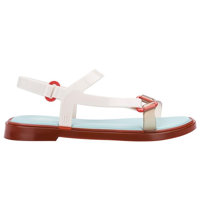 Melissa Fresh Sandal - Bege/Vermelha