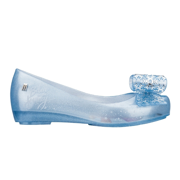 Melissa Mel Ultragirl + Frozen Infantil - Azul Glitter