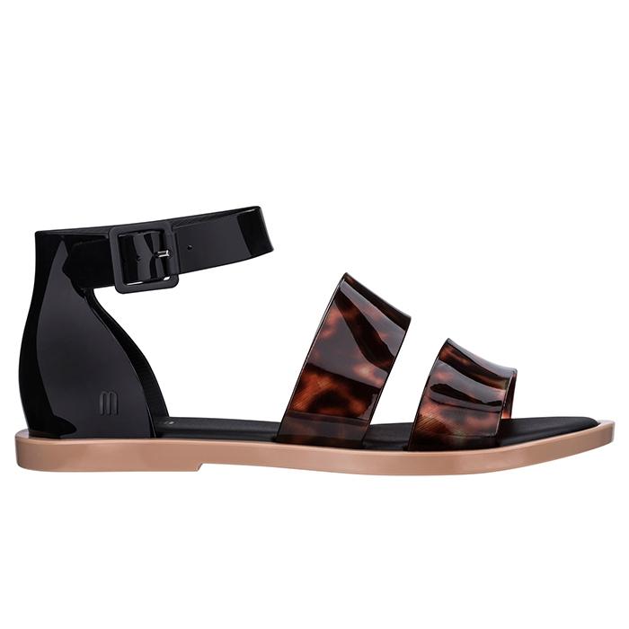 Melissa Model Sandal - Preta/Tartaruga