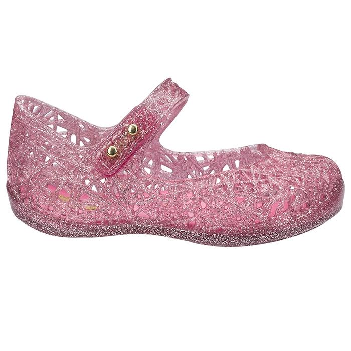 Mini Melissa Campana Zig Zag VI - Rosa Glitter