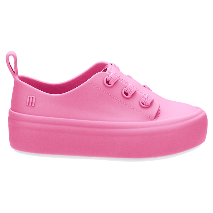 Mini Melissa Ulitsa Sneaker - Rosa/Branco