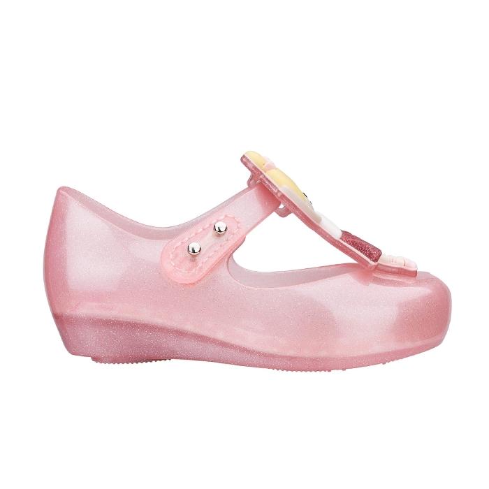 Mini Melissa Ultragirl Ballerina - Rosa/Amarela