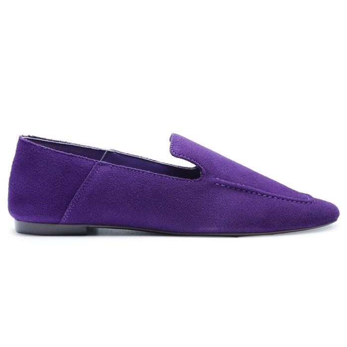Mocassim Loafer Suede Schutz - Purple
