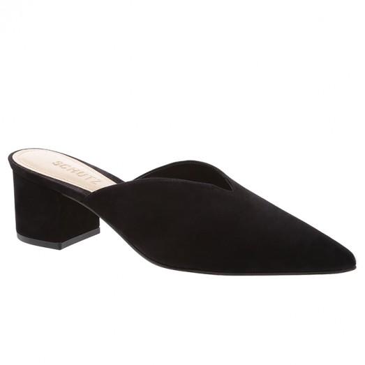 Mule Block Heel Cava Schutz - Black