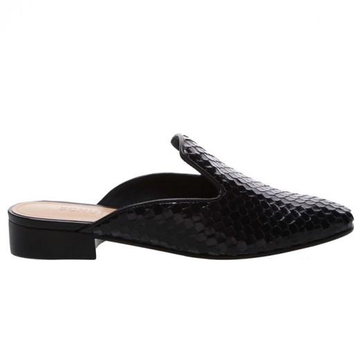 Mule Flat Snake Schutz - Black