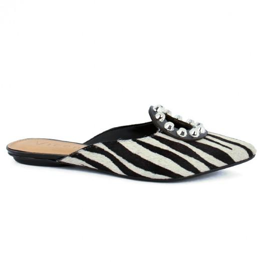 Mule Pelo Wild Vicenza - Zebra