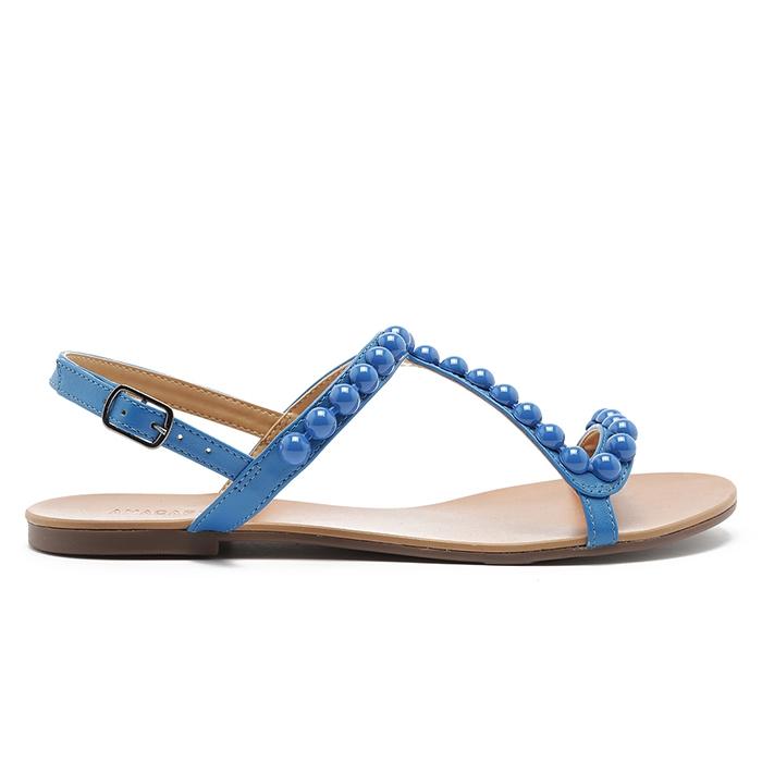 Sandália Bolinhas Anacapri - Azul