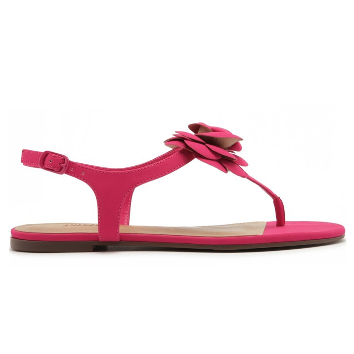 Sandália Flor Anacapri - Pink