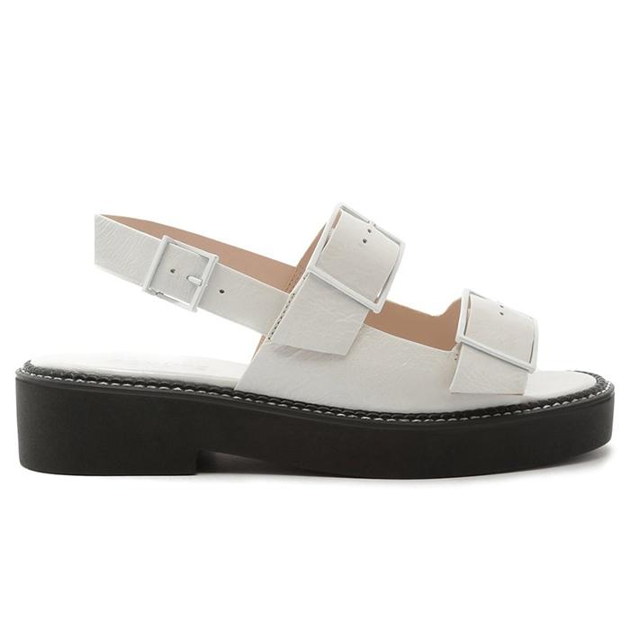 Sandália Sporty Sandal Deluxe Schutz - White