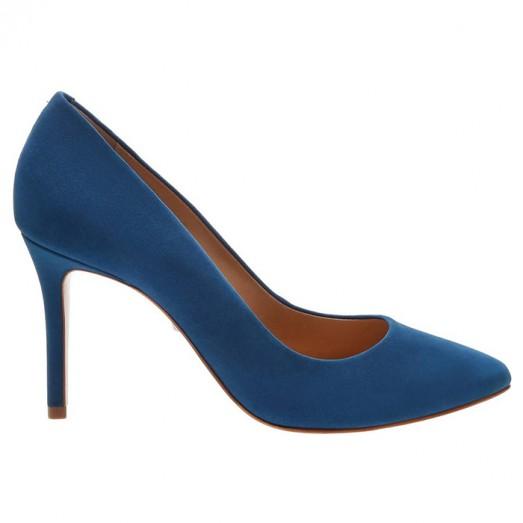 Scarpin Classic Nobuck Schutz - Blue