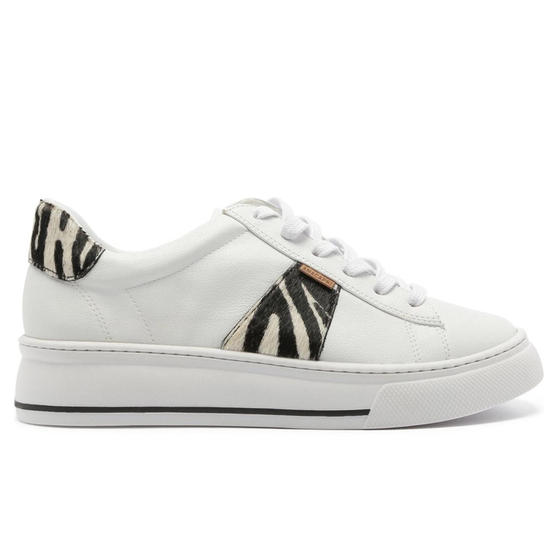 Tênis Dani Recorte Anacapri - Zebra