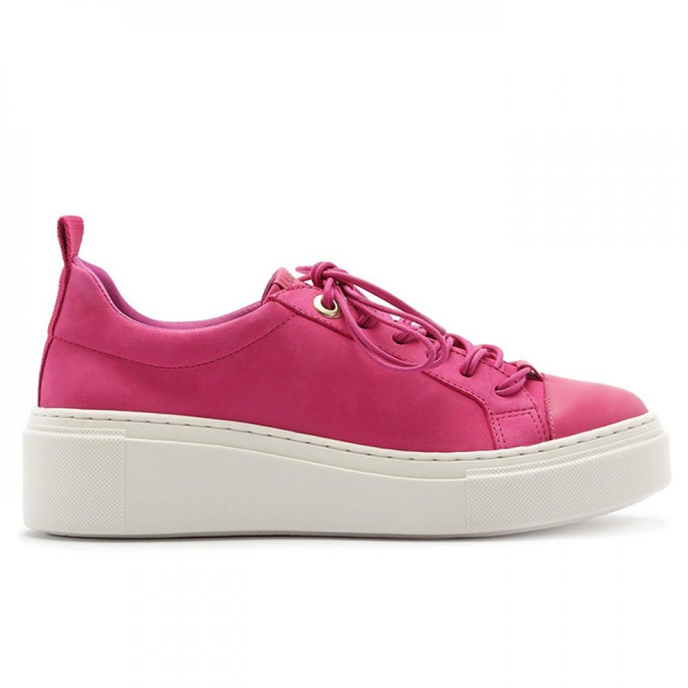 Tênis Nobuck Cadarço Arezzo - Summer Pink