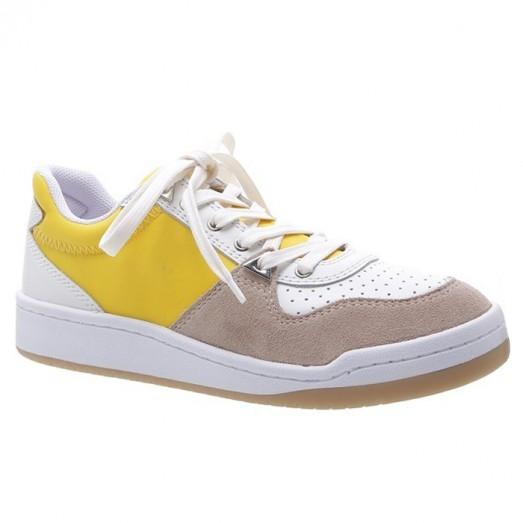 Tênis Street Multicolors Schutz - Amarelo/Branco