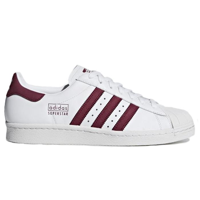 Tênis Superstar 8OS Adidas - Branco/Marrom