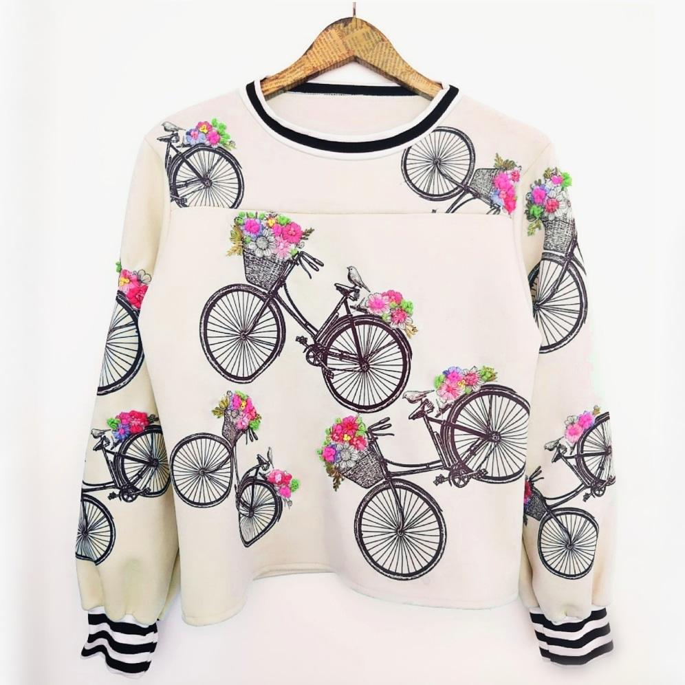 Blusa Bicicletas