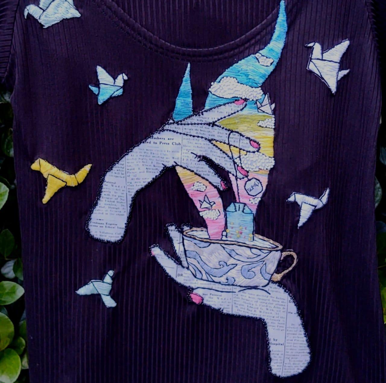 Camiseta Chá de Sumiço