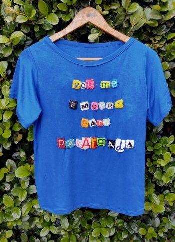 Camiseta Vou