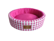 Cama Redonda Pink G Fábrica Pet