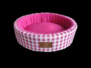 Cama Redonda Pink M Fábrica Pet