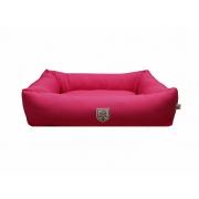 Cama Retangular Pink M Fabrica Pet