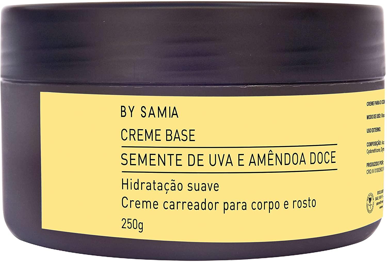 CREME ESFOLIANTE BASE APRICOT BY SAMIA ***PROMOCAO