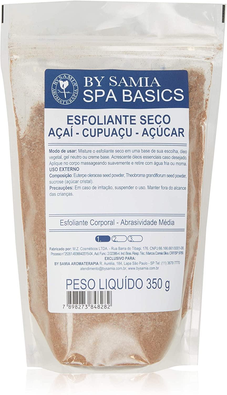Esfoliante Seco Açai Cupuaçi Açucar By Samia Promoção