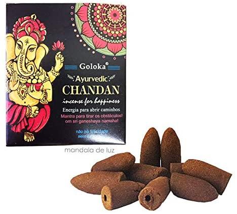 Icenso Chandan for Happiness Cascata Massala Goloka