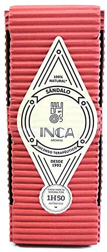 Incenso Sandalo Natural Artesanal 9 Varetas Inca T-05